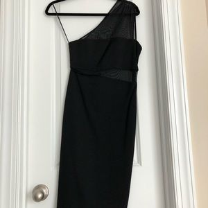 Express one-shouldered LBD